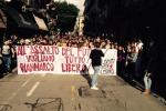 Studenti in piazza a Palermo contro la Buona Scuola - Video