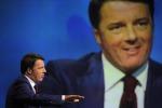 """Renzi: """"Il canone Rai sarà in bolletta e costerà 100 euro, il Pil arriverà presto all'1%"""""""