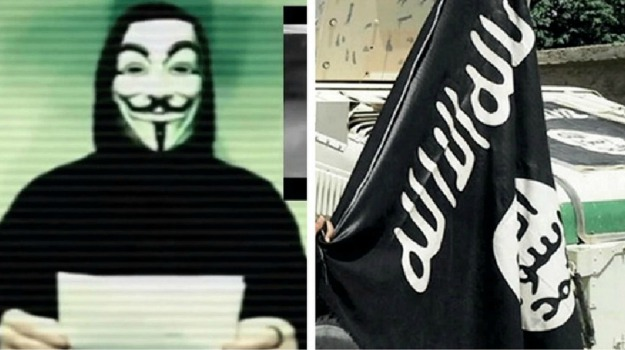 Anonymous, Isis, Sicilia, Mondo