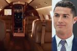 Dotato di spogliatoi e ristorante: ecco il jet privato da 19 milioni di euro di Cristiano Ronaldo - Video