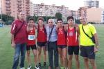 Cus Palermo, spettacolo dei cadetti nella 4X100: record siciliano