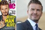"""David Beckham eletto l'uomo più sexy del mondo: """"Non mi sono mai sentito attraente"""""""