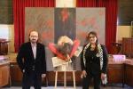Violenza contro le donne, artista palermitano dona dipinto alla città