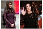 Stesso pizzo, stesso look: Kate Middleton copia Monica Bellucci. Le due bellezze a confronto - Foto