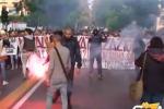 Scuola, la protesta degli studenti a Palermo