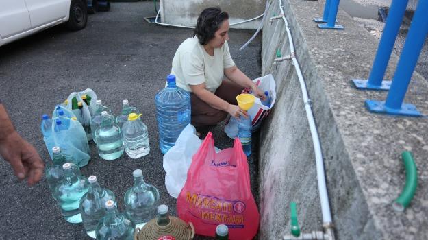 amam, messina senz'acqua, Messina, Cronaca