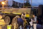 Messina senz'acqua, cittadini esasperati in fila davanti alle autobotti
