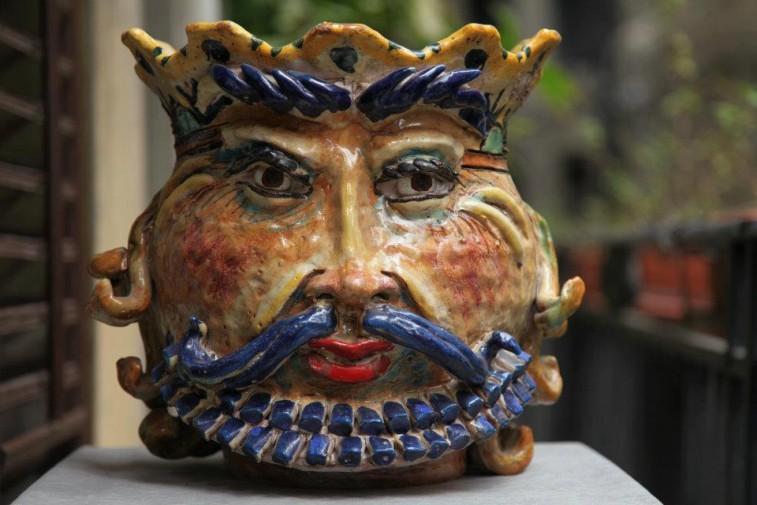 Ceramica arte e musica per raccontare la sicilia mostra for Arte arredi sciacca