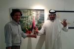 Opera di un palermitano vince a Dubai il Golden Brush Awards