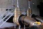 A Messina tubi flessibili per far tornare l'acqua