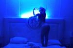 In topless sul letto, sui social la buonanotte hot di Wanda Nara: le foto