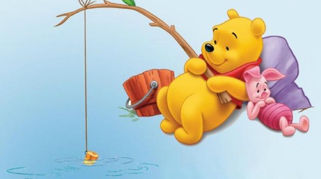 Cartone animato winnie the pooh poster precedenti i cartoni
