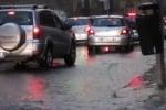 Forte temporale di notte a Palermo, allagamenti e auto bloccate