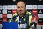 L'allenatore del Real Madrid Rafa Benitez