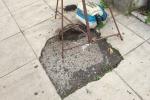 Buche in strada a Palermo, ha compiuto un anno quella di via Principe di Paternò