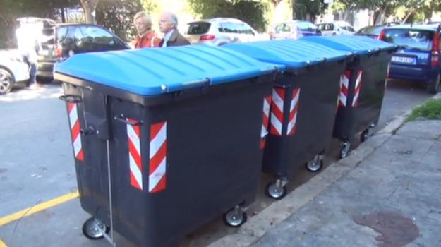 cassonetti, rap, rifiuti, Palermo, Cronaca