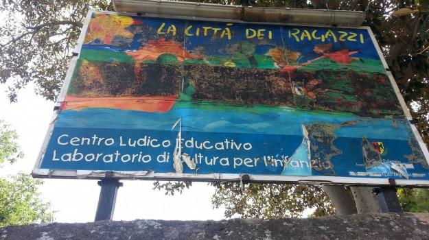 bambini, città dei ragazzi, giochi, parco, Palermo, Cronaca