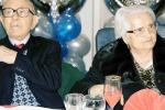 Augusta, sposi da 84 anni: lui ne ha 102, lei 99