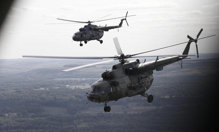 Elicottero Russo : Elicottero russo precipita in siberia ci sono morti