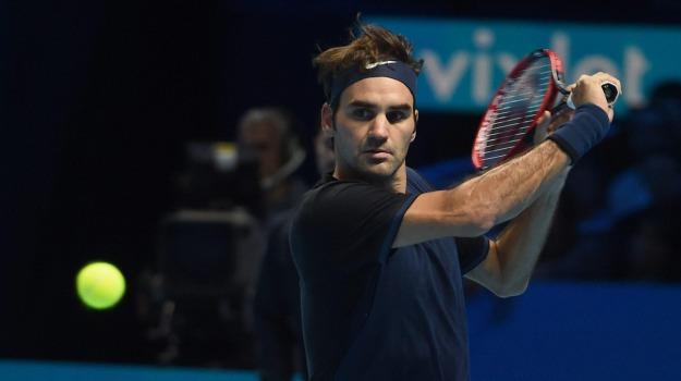 Atp Finals, Tennis, Fabio Fognini, Novak Djokovic, Roger Federer, Sicilia, Sport