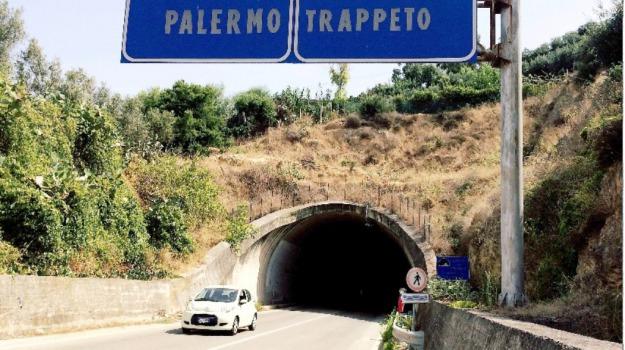 anas, gallerie, statale, Palermo, Cronaca