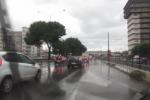 Violento temporale a Palermo: allagamenti e traffico in tilt - Video