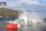 Pioggia e vento in Sicilia: disagi nel Catanese e nel Messinese, mareggiate alle Eolie - Video