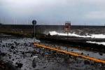 Mareggiate e forti raffiche di vento tra Acireale e Calatabiano - Foto