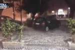 Pioggia e grandine a Messina, grossi disagi in città - Video