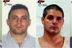 Rapina per finanziare Messina Denaro - Nomi e foto degli arrestati