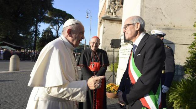 campidoglio, commissario, comune, Francesco Paolo Tronca, Ignazio Marino, Papa Francesco, Sicilia, Politica