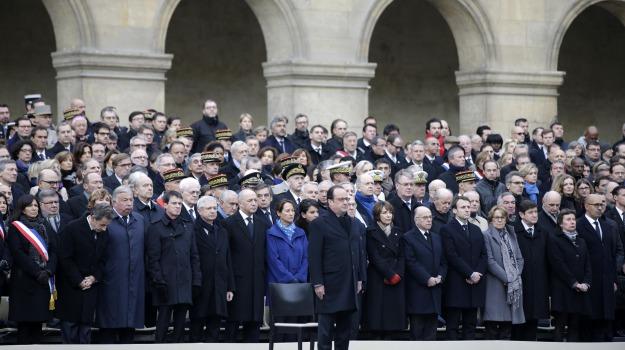 commemorazione, parigi, strage, terrorismo, Sicilia, Mondo