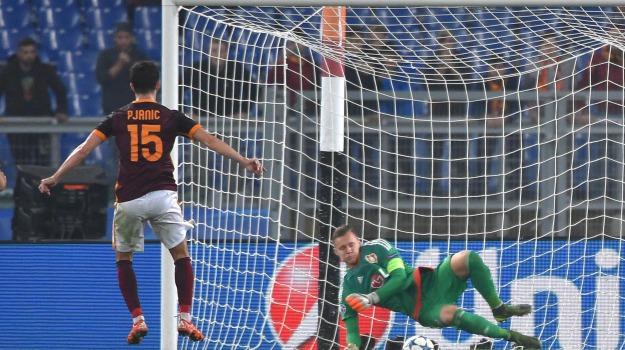 Calcio, champions league, roma, Sicilia, Sport