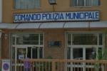 Nuovo crollo nella sala operativa dei vigili a Palermo