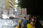 Agrigento, studenti in piazza contro la legge sulla scuola