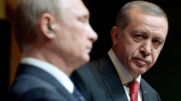 jet abbattuto, Recep Tayyip Erdogan, Vladimir Putin, Sicilia, Mondo