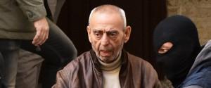Il boss Salvatore Profeta al momento dell'arresto