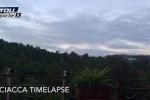 Le nuvole su Sciacca in timelapse