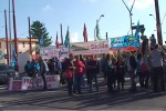 Sciopero dei lavoratori del commercio, protesta a Palermo - Video
