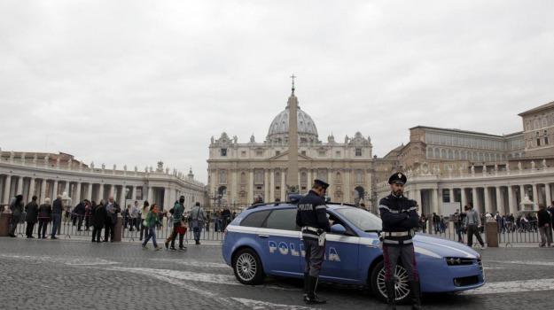 papa, terrorismo italia, vaticano, Sicilia, Cronaca
