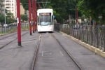 Tram, prime prove in via Da Vinci e circonvallazione - Video