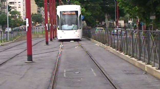 procura, tram, trasporti, Leoluca Orlando, Palermo, Cronaca