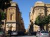 Due auto in contromano in via Atenea ad Agrigento