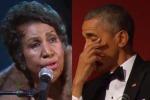 Aretha Franklin canta sul palco e Obama... si commuove: il video
