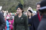 A messa con un cappotto Max Mara: Kate veste italiano - Foto