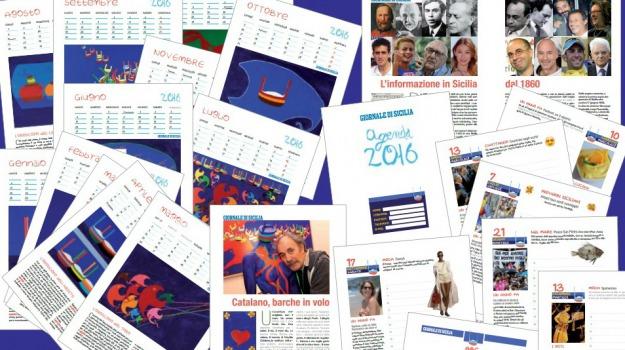 agenda, giornale di sicilia, Sicilia, Cultura