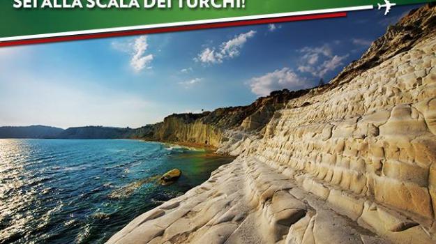 alitalia, scala dei turchi, turismo, Agrigento, Economia, Viaggi