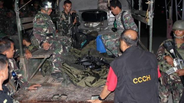 Filippine, guerriglieri, Isis, islamici, terrorismo, Sicilia, Mondo