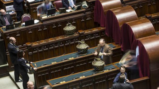 Lutto, parlamento, ribera, Agrigento, Politica