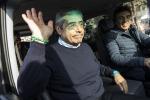 """Cuffaro è uscito dal carcere di Rebibbia """"Bello respirare la libertà, basta politica"""""""